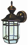 Heathco HZ-4175-AC Lexington Light Fixture, DualBrite Motion-Activated, Antique Copper, 100-Watt