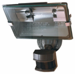 Heathco HZ-5311-BZ Halogen Security Light, DualBrite Motion-Activated, Bronze, 500-Watt