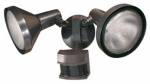 Heathco HZ-5318-BZ Halogen Flood Light, DualBrite Motion-Activated, Bronze, 240-Watt