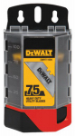 Stanley Tools DWHT11004L 75PC HD Util Blade
