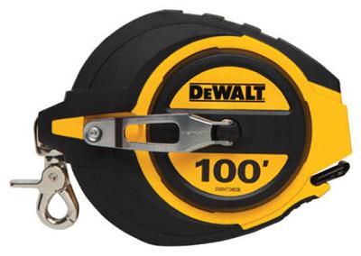 DWHT34036-Closed-Case-Measuring-Tape-5-1-Gear-Ratio-100-Ft-Quantity-1