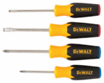 Stanley Consumer Tools DWHT62512 Screwdriver Set, 4-Pc.