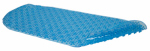 Kittrich BMAT-C4J01-04 Bath Mat, Bubble, Blue Rubber, 15 x 34-1/2-In.