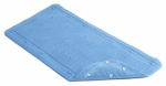 Kittrich BMAT-C4N01-04 Bath Mat, Blue Rubber, 17 x 36-In.