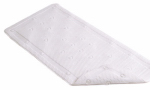 Kittrich BMAT-C4N06-04 Bath Mat, White Rubber, 17 x 36-In.