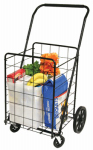 Faucet Queens 39720 Deluxe Swiveler Shopping Cart, 4-Wheel