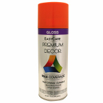 True Value Mfg PDS101-AER Enamel Spray Paint, Pumpkin Orange Gloss, 12-oz.