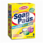 Personal Care Products 90562-7 Heavy-Duty Steel Wool Soap Pad, 12-Count