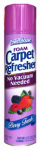Personal Care Products 90659-4C Foam Carpet Refresher, 9-oz. Aerosol, Berry Fresh