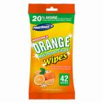 Personal Care Products 90860-4 Multi-Purpose Orange Citrus Wipes, 35 Count