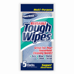 Personal Care Products 92533-5 Reusable Tough Wipes, 8-Pack