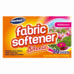 Personal Care Products 92609-7 Fabric Softener Sheet, 40-Count, Fresh Floral