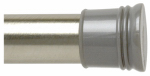 Zenith/Bathware 506ST Shower Rod, Tension, Brushed Chrome, 42 to 72-In.