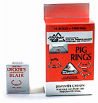 Decker Mfg 4 Blair Pig Ring, No. 1, 100-Pk.