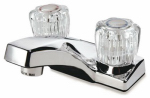 B&K 121-014RP Chrome 2-Handle Lavatory Faucet