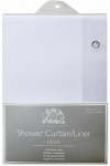 Ex-Cell Home Fashions 1MB040O0-6111/100 Eco-Soft Shower Curtain Liner, White, 70 x 71-In.