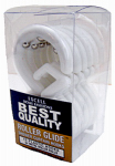 Ex-Cell Home Fashions 1ME-060O0-0328-961 Roller Glide Shower Curtain Hooks, 12-Pack Frosty