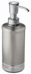 Interdesign 76350 York Bathroom Lotion/Soap Dispenser, Metal