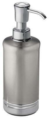 Interdesign 76350 York Bathroom Lotion/Soap Dispenser, Metal