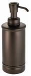 Interdesign 76385 York Bathroom Lotion/Soap Dispenser, Bronze