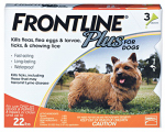 Premium Pet Products 287010 Frontline Plus For Dogs & Puppies, Small, 3-Pk.