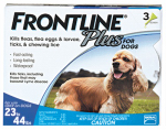 Professional Pest Products 287110 Frontline Plus For Dogs, Medium, 3-Pk.