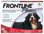 Professional Pest Products 287310 Frontline Plus For Dogs, XL, 3-Pk.