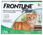 Premium Pet Products 287410 Frontline Plus For Cats & Kittens, 3-Pk.