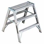 Louisville Ladder L-2032-03 Sawhorse Step Ladder, 3-Ft.