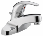 Delta Faucet P188620LF Bathroom Faucet, Chrome/Plastic Pop-Up, Single Handle