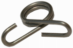 Parker Mc Crory Mfg 719 Electric Fence Clip, Rod Post, Stainless Steel, .375-In., 20-Pk.