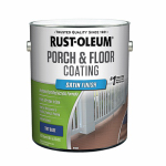 Rust-Oleum 262363 Porch & Floor Urethane Finish, Satin Tint Base, 1-Gal.