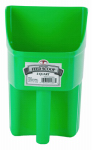 American Distribution & Mfg 153874 Feed Scoop, Enclosed, Lime Green Plastic, 3-Qts.
