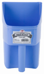 American Distribution & Mfg 154116 Feed Scoop, Enclosed, Berry Blue Plastic, 3-Qts.