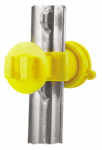 Dare Products 2193-25 Electric Fence Insulator, T-Post, Western Screw Tight, Yellow
