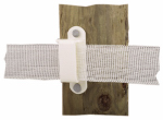 Dare Products 2330-25W Electric Fence Tape Insulator For Wood Posts + Insulators