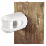 Dare Products 2802-25 Electric Fence Insulator, Line & Corner, Porcelain, Small
