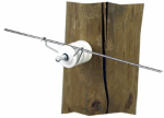 Dare Products 458 Electric Fence Wire-To-Insulator Fastening Clips, 100-Pk.