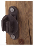 Dare Products SNUG HTN Electric Fence Insulator, Wood Post, Snug-Fit, Black, 25-Pk.