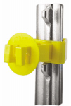 Dare Products SNUG-XLSTP-25 Electric Fence Insulator, T-Post, Snug-Fit, Yellow, Extra-Long, 25-Pk.