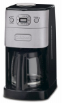 Cuisinart DGB-625BC Grind & Brew Coffeemaker, Brushed Metal, 12-Cup