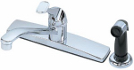 Homewerks Worldwide 30-K81WYRNDCHB-Z Kitchen Faucet, With Spray, Single-Lever, Chrome