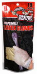 Big Time Products 23510-26 Latex Gloves, Disposable, 10-Ct.
