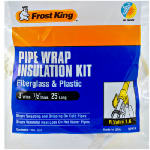Thermwell Products SP41X 3-Inch x 25-Ft. Fiberglass Pipe Wrap Insulation Kit