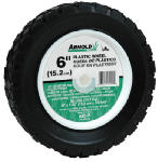 Arnold 490-320-0002 6-Inch Plastic Universal Offset Replacement Lawn Mower Wheel