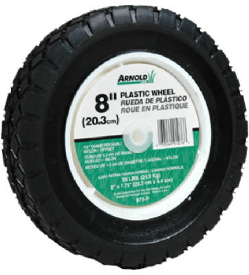 490-322-0003 8-Inch Plastic Universal Offset Replacement Lawn Mower Wheel