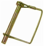 Double Hh Mfg 41980 Wirelock Pin, Square, Yellow Zinc Plated, 5/16 x 2-1/4-In., 2-Pk.
