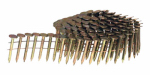 Senco Fastening Systems M003103 7,200 Count 0.120 x 1 inch Full Round Head Smooth Shank Electro-Galvanized Coiled Roofing Nail