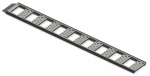 Cequent Consumer Products 1126800 Straight Loading Ramp, 1,250-Lb. Capacity, Aluminum, 13 x 77-In., 2-Pk.