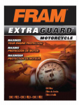 Fram Group PH6017A PH6017A Motorcycle Oil Filter Spin-On